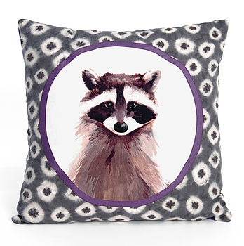 Rocky Raccoon Cushion