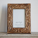 Jaraja Mango Wood Photo Frame