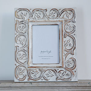 Taksa Mango Wood Photo Frame - picture frames