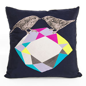 Gather Cushion - the geometric trend