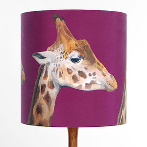 Giraffes Lampshade - lighting