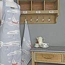 Boating Apron Blue/ Grey