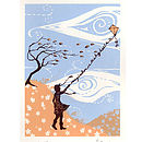 Imagination Original Silkscreen Print