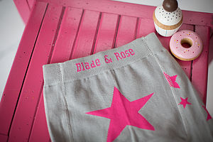 Girls Star Leggings - clothing
