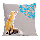 Martha Fox Cushion