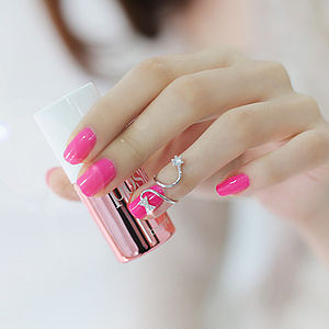Bow Nail Ring - rings