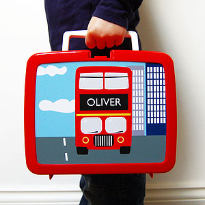 Personalised Plastic Lunch Box Various Designs - picnics & barbecues