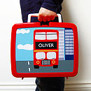 Personalised Plastic Lunch Box Various Designs