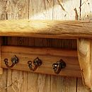 Hand Crafted Sycamore Shelf