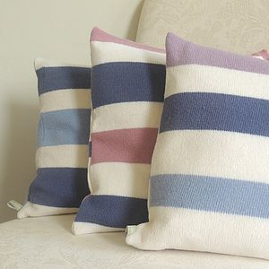 Lambswool Striped Cushion Covers