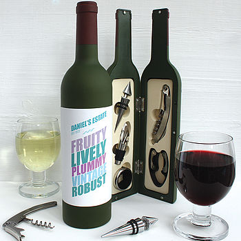 Personalised Wine Tool Kit
