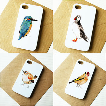 British Birds iPhone Case
