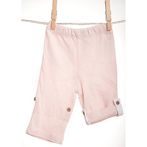 Pink Tracksuit Bottoms With Tie Up - trousers & leggings