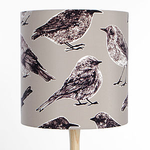 Flight Lampshade Grey - lampshades