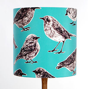 Flight Lampshade Aqua - lamp bases & shades