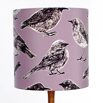 Flight Lampshade Raspberry