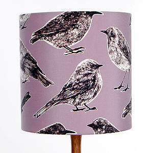 Flight Lampshade Raspberry - lampshades