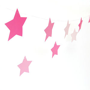 Star Paper Party Bunting