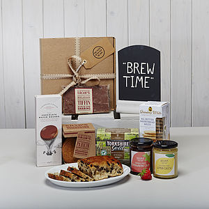 Yorkshire Tea And Treats Hamper - brand new sellers