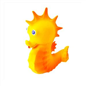 Kelsie The Seahorse Teething Bath Toy - baby's room