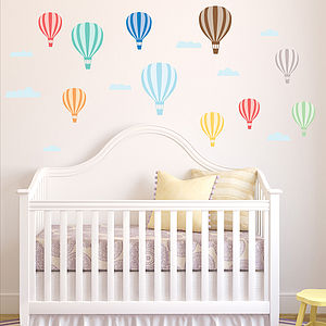Hot Air Balloon Wall Stickers - home sale