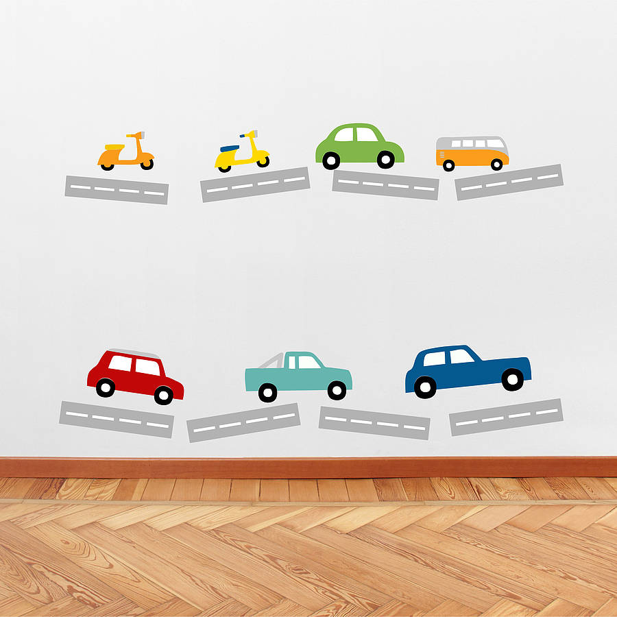 Classic Cars Wall Stickers