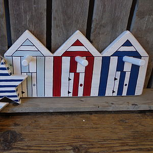 Beach Hut Pegs - hooks, pegs & clips