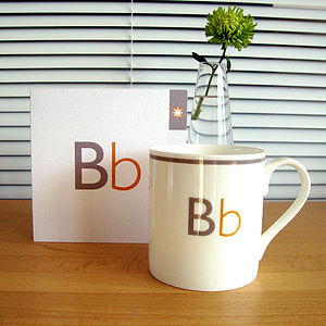 Letter Mug And Geometrics Mug Ranges
