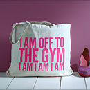 'Off To The Gym' Bag