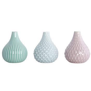 Pastel Vases Set