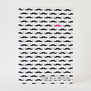 One In A Million Moustache Card