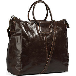 Leather Travel Bag - holdalls & weekend bags