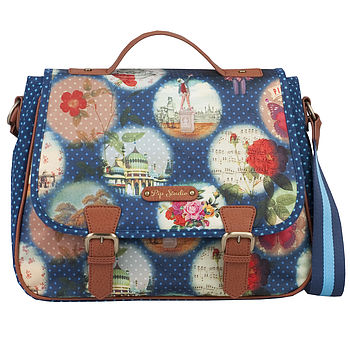 Pip Remember Brighton Shoulder Bag Blue