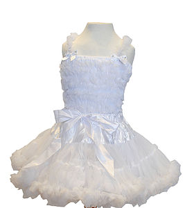 Deluxe Angel Pettiskirt Tutu Outfit - children's skirts
