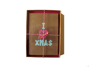 Christmas Washi Tape Box Two - cards & wrap