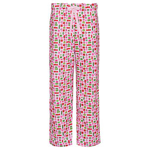 Pink Presents Brushed Cotton Pj Trousers - loungewear
