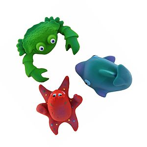Ocean Bath Time Toy Set