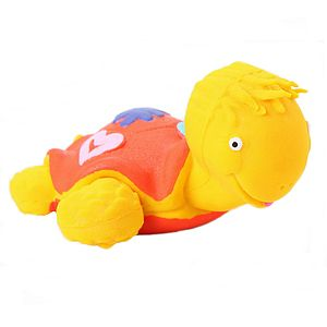 Ned The Turtle Teething Bath Toy - baby's room
