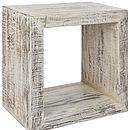 Kuba End Table Cube