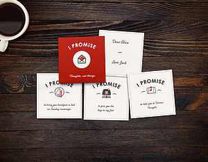 Personalised 'I Promise' Cards - shop by category