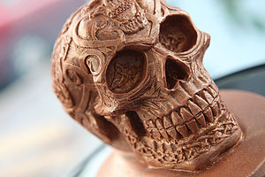 Chocolate Skull - food & drink gifts