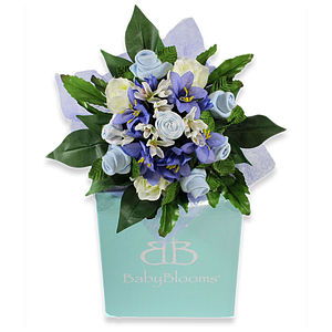 New Mum And Baby Boy Clothing Gift Bouquet - hampers & gifts sets
