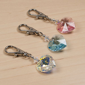 Swarovski Crystal Charm For Dog Collars - bags & purses