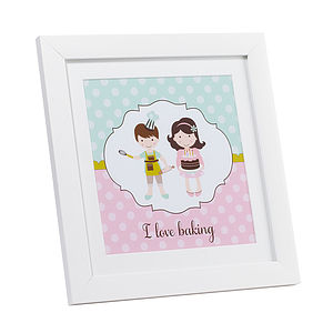 Baking Keepsake Print
