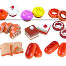 Toy Cakes And Buns Set