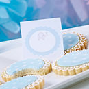 Baby Shower Blank Cards Blue