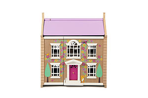 Wooden Doll's House - toys & games