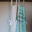 Umbrella Print Aprons
