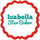 Red 'Star Baker' Personalised Oilcloth Apron