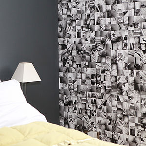 Bespoke Photomontage Wallpaper - children's room accessories